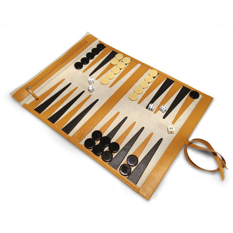 Backgammon enrollable - Koon Artesanos