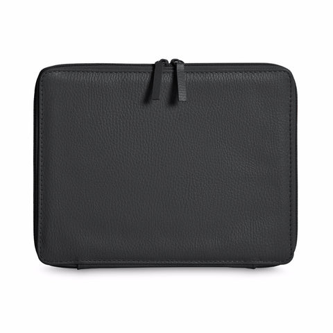 A+A Funda iPad Flexible Otomi – de piel – negro