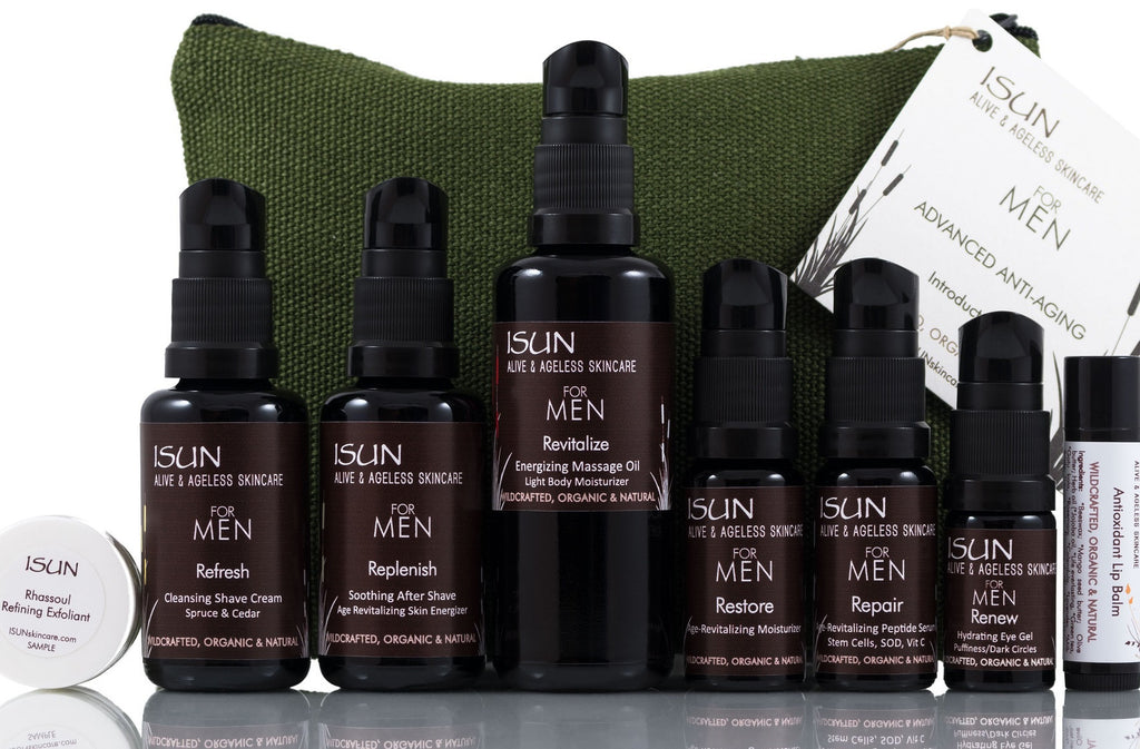 ISUN Advanced Anti-Aging Introductory Set for Men