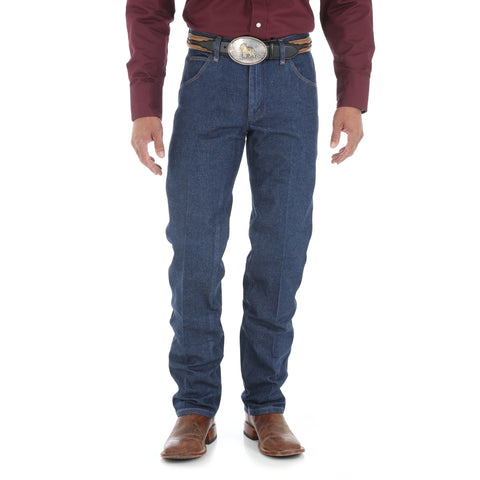 Wrangler Mens Rigid Indigo 100% Cotton New Cowboy Cut Jeans