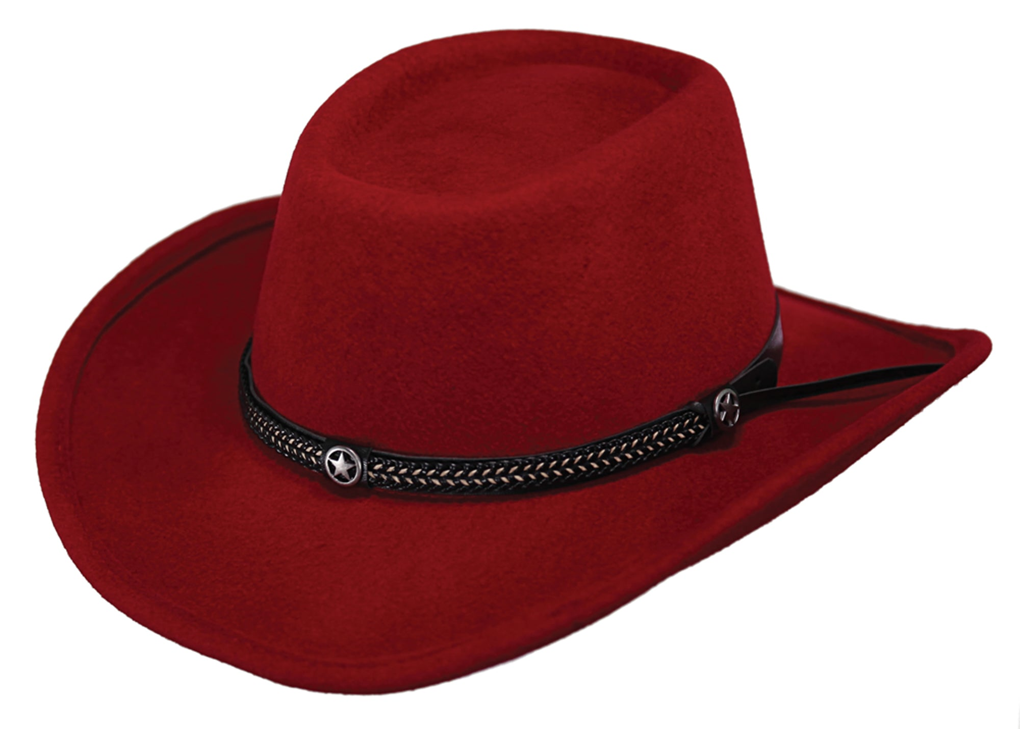 Outback Trading Co. Durango Mens Hat Red Australian Wool UPF50 – The ... dfbd4977c79