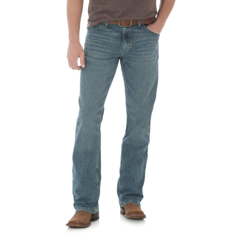Wrangler Mens Barrel Cotton Blend 20X Competition Jeans