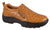Roper Mens Performance Sport Slip-Ons Tan Faux Ostrich Leather Comfort Loafer Shoes