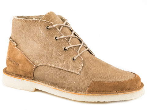 4ca05ab256743e ... Low EH CT Oxfords Work Shoes.   64.99. Roper Crepe Mens Waxy Tan Leather  Everett Ankle Boots