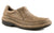 Roper Mens Opanka Slip-Ons Tan Vintage Nubuck Leather Comfort Loafer Shoes