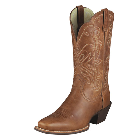 Ariat Russet Rebel Womens Legend Leather Western Boots