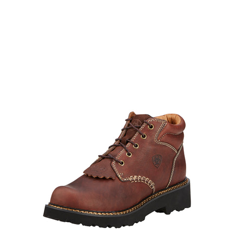 Ariat Dark Copper Womens Canyon Leather Work Boots