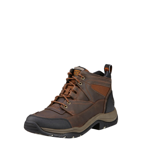 Ariat Distressed Brown Mens Terrain Leather Hiking Boots