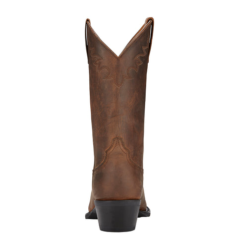 Ariat Distressed Brown Mens Sedona Leather Western Boots