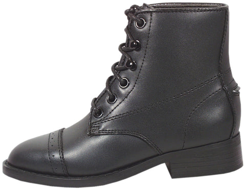 Smoky Mountain Boots Youth Boys Paddock Black Faux Leather Western