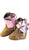 Old West Pink Camo Infants Girls Apache Leather Comfort Poppets Cowboy Boots