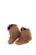 Old West Brown Infant Girls Leather Fringe Fashion Boots