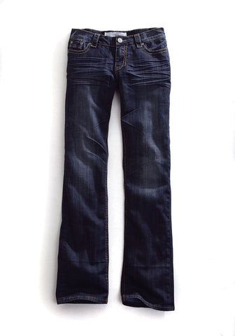 Tin Haul Jeans Ladies Blue Cotton Blend Dk Wash Mimi X-Boyfriend Fit