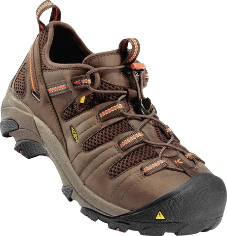 Keen Utility Shitake Mens Atlanta Cool WR Nubuck Sneaker Shoes