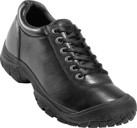 Keen Utility Black Mens PTC WR Leather Dress Oxford Shoes