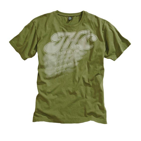 Tin Haul Unisex Graphic Tee T-shirt Green S/S 100% Cotton THC Screen Print