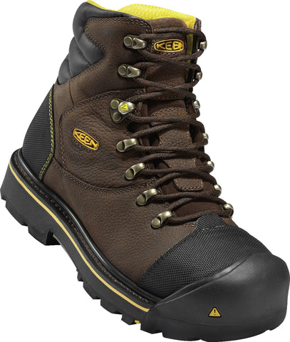 Keen Utility Slate Black Mens Milwaukee WR Leather Work Boots
