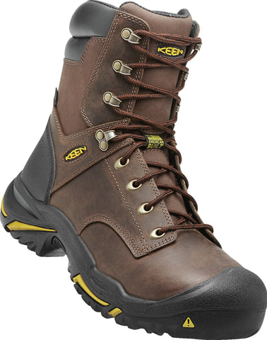Keen Utility Cascade Brown Mens Mt Vernon WP Nubuck Work Boots