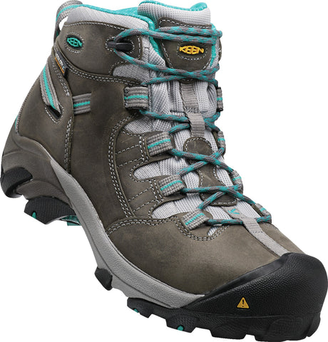 Keen Utility Capri Breeze Womens Detroit Mid WP Nubuck Work Boots