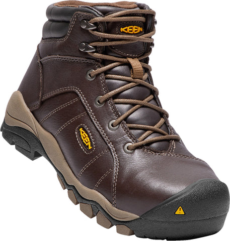 Keen Utility Cascade Brown Womens Santa Fe 6in AT WP Leather Work Boots