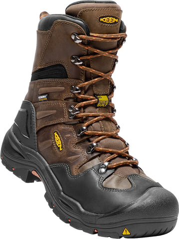 Keen Utility Cascade/Brindle Mens Coburg 8in WP Leather Work Boots