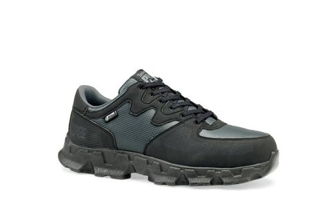Timberland Pro Powertrain ESD Womens Black Faux Leather Work Shoes