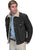 Scully Leather Mens Boar Suede Sherpa Fleece Jean Jacket Black