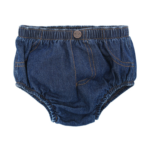 Wrangler Baby Prewashed Indigo 100% Cotton Diaper Cover Jeans
