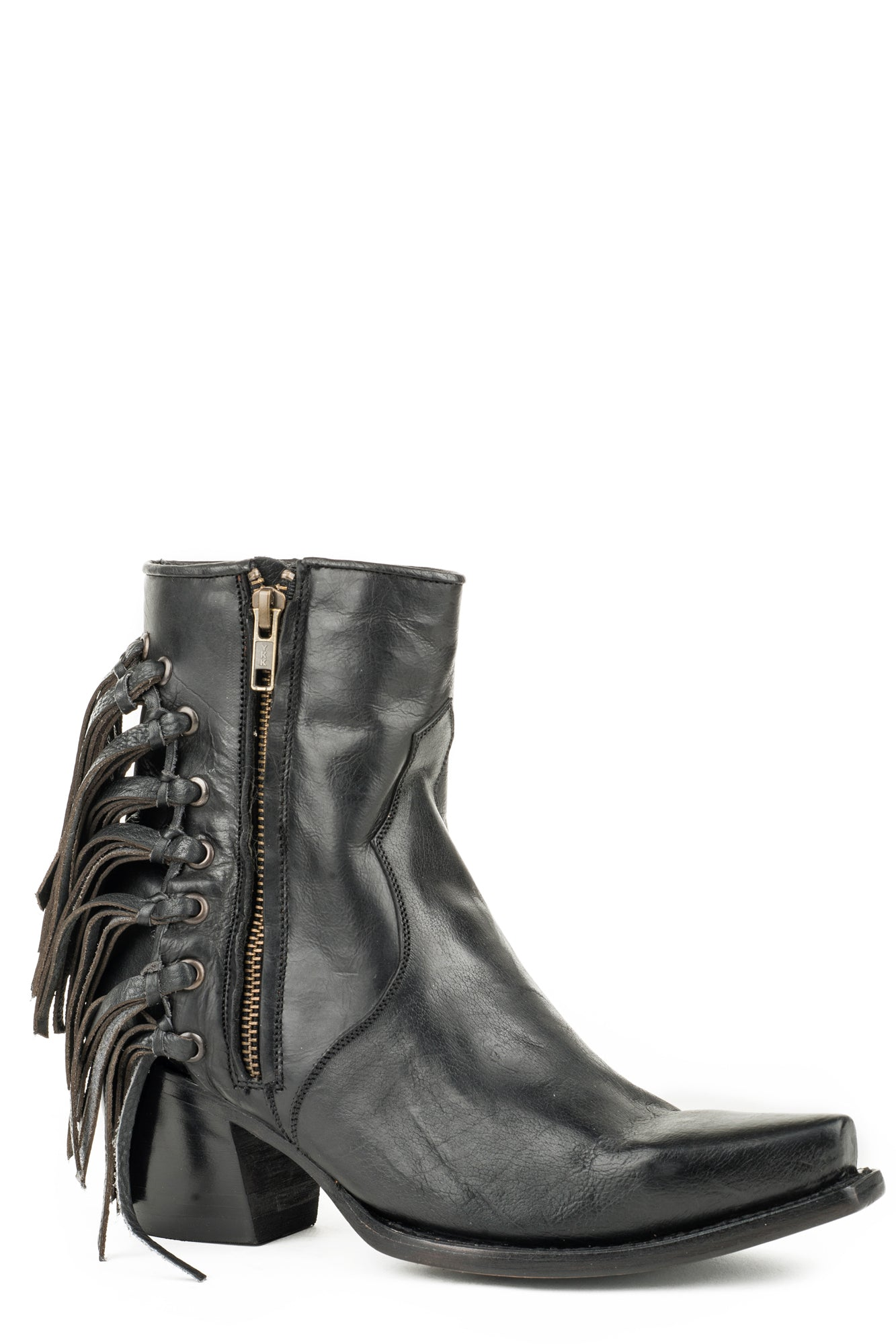 Leather Evie Ankle Boots