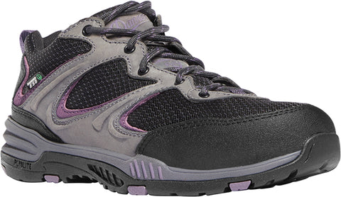 Danner Springfield Low Womens Gray/Purple Leather ESD CT Work Shoes