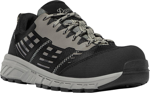 Danner Run Time Womens Black Textile CT SD Work Shoes