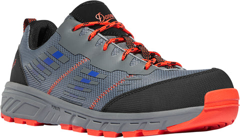 Danner Run Time Mens Blue/Red Textile CT EH Work Shoes