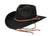 Outback Trading Co. Broken Hill Mens Hat Black Australian Wool UPF50