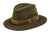 Outback Trading Co Willis With Mesh Mens Hat Sage Oilskin