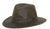 Outback Trading Co. Holly Hill Mens Hat Brown Vintage Cotton/Polyester UPF50