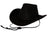 Outback Trading Co. Bootlegger Mens Hat Black 100% Cotton Oilskin Waterproof