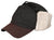 Outback Trading Co. Mckinley Cap Mens Trapper Hat Black Cotton Oilskin Fleece