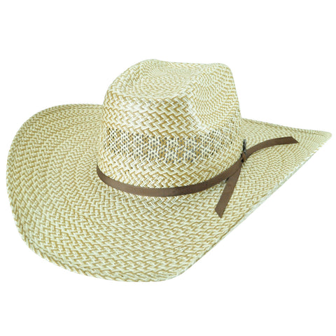 Bailey Rayder Natural/Sand Unisex Straw Western Hat Brick 15X