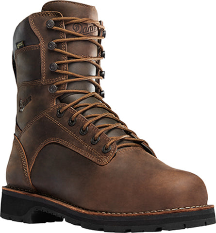 Danner Workman 8in Mens Brown Leather GTX Work Boots