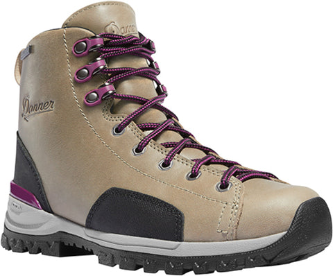 Danner Stronghold 5in Womens Gray Leather WP EH Work Boots