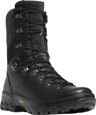 Danner Wildland Tactical Mens Black Leather 8in Firefighter Boots