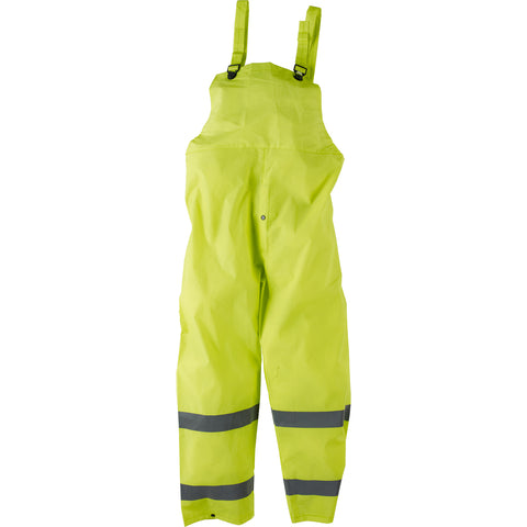 Neese Economy Rain Suit Hi-Viz Lime PVC On Poly 3 Piece Reflective