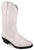 Smoky Mountain Toddler Girls Mesquite II White Leather Cowboy Boots