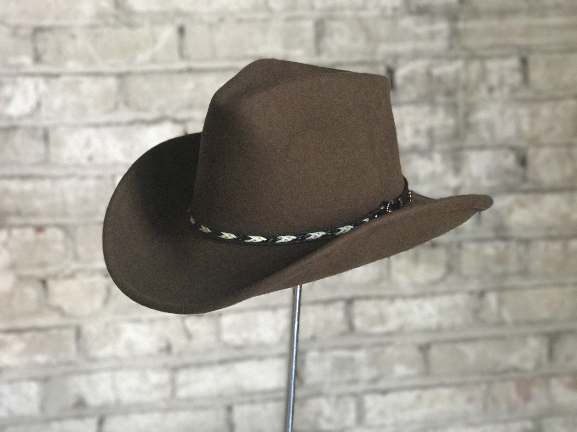 Rockmount Mens Brown Felt Cowboy Crushable Hat – The Western Company