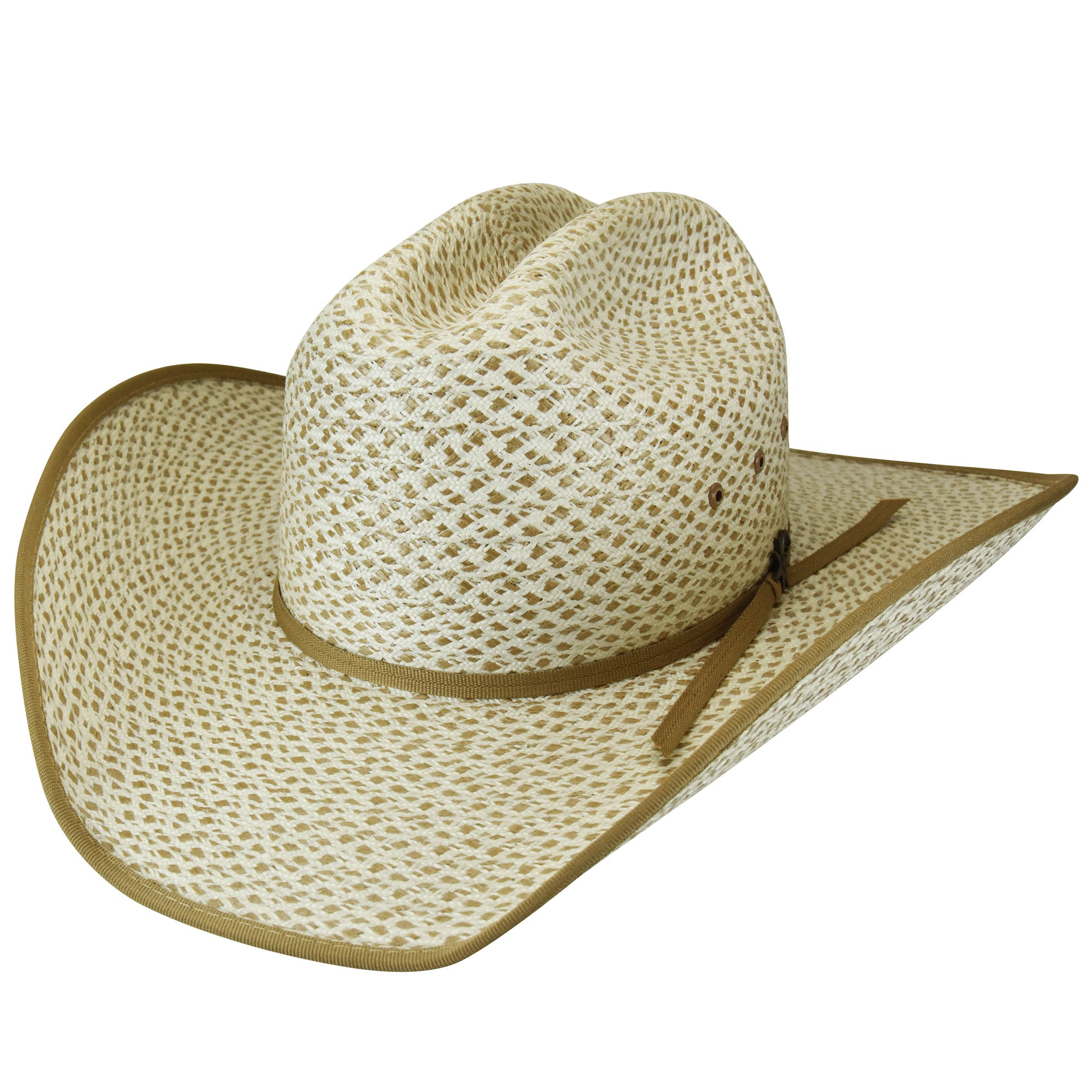 7c38a75d266246 Bailey Chaparral Ivory/Camel Mens Straw Western Hat Marlboro – The ...