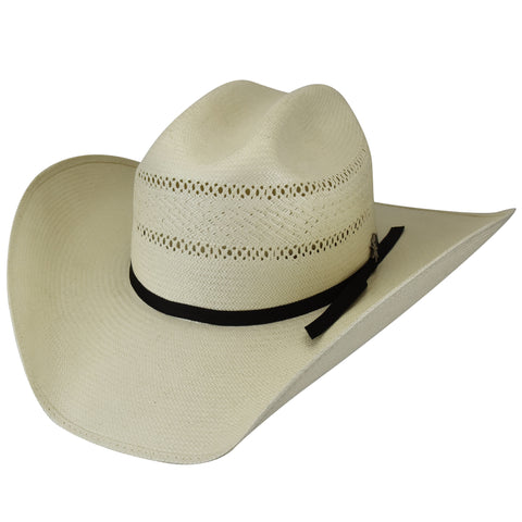2843bc28f95e9 Bailey Macon Natural Mens Straw Western Hat 20X Rodeo