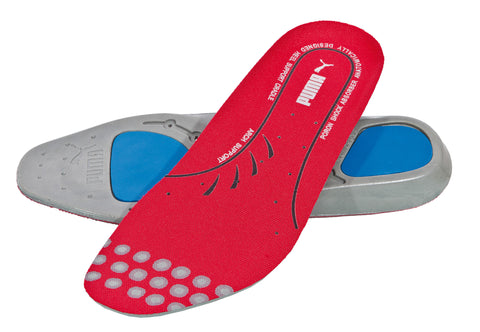 Puma Safety Red Mens PU Evercushion Plus PORON Footbed Insoles
