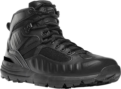 Danner Fullbore Mens Black Leather 4.5in WP Military Boots