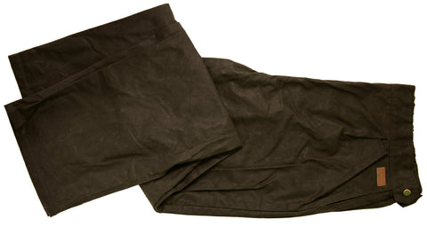 Outback Trading Co. Oilskin Overpant Mens Pants Brown 100% Cotton 12 Oz
