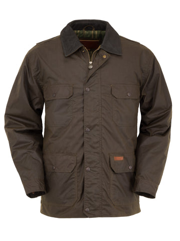 Outback Trading Co Gidley Mens Jacket Bronze Marshall Oilskin